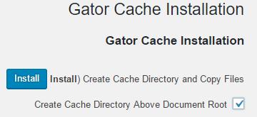 Gator Cache - תוסף מומלץ