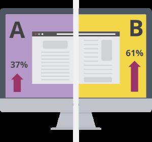 A/B Testing - אל תוותרו על חיפוש הגרסה הממירה ביותר